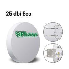 آنتن دیش 25Dbi فاز با ایزولاتور Phase 25dBi Eco