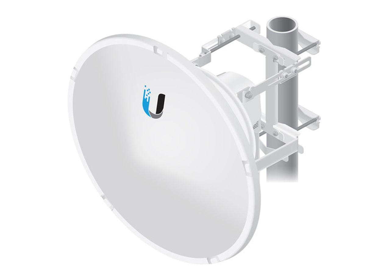 آنتن دیش 35Dbi یوبیکیوتی 11 گیگا Ubiquiti Dish AF-11G35 یکی از محصولات یوبیکیوتی است که برای ارتباطات نقطه به نقطه و تبادل حجم اطلاعات بالا طراحی شده است .
