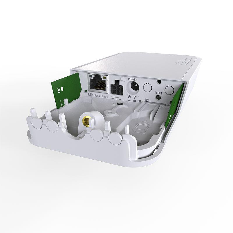اکسس پوینت 4G میکروتیک Mikrotik wAP 4G kit با نام فنیRBwAPR-2nD&R11e-4Gاز تولیدات محبوب میکروتیک است که برای فضاهای بیرونی و داخلی مورد استفاده قرار می گیرد