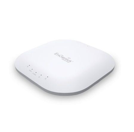 اکسس پوینت Dual Band سقفی انجنیوس EnGenius EWS310APدارای 1 پورت اترنت 10/100/1000 با قابلیت Poe Support 802.3af می باشد و از 4 آنتن 5 Dbi بهره می برد .
