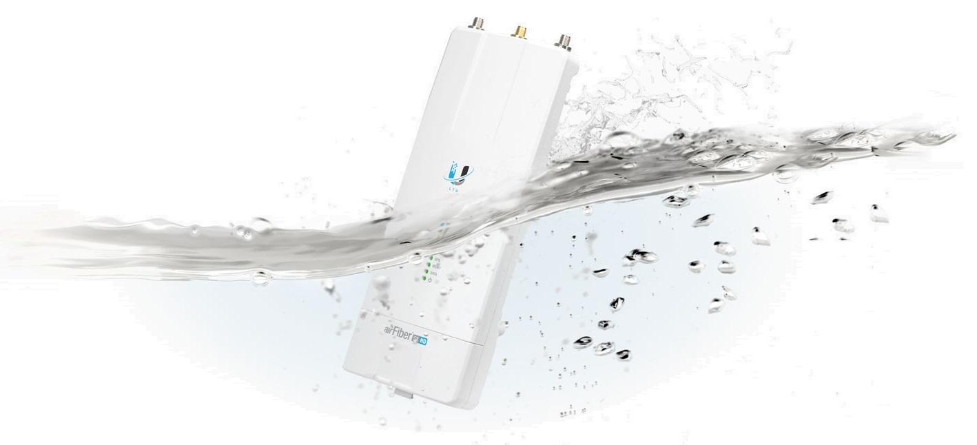 رادیو ایر فایبر 5 گیگا یوبیکوییتی Ubiquiti airFiber AF‑5XHD یکی دیگر از محصولات منحصر به فرد کمپانی یوبیکوییتی می باشد و در سری X تولید شده است که شامل محصولات دیگری نیز می باشد