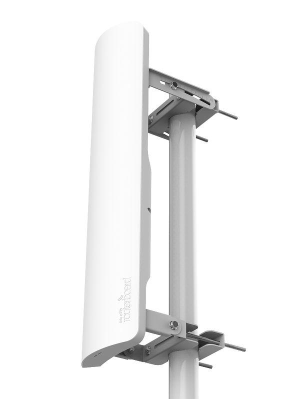 رادیو وایرلس میکروتیک Mikrotik mANTBox 19s با نام فنیRB921GS-5HPacD-19S از سری محصولاتی که برای استفاده از آن می بایست گواهی تایید نمونه از سازمان تنظیم مقررات اخذ نمود . این رادیو از محصولاتی می باشد که بر Base Station طراحی شده است .