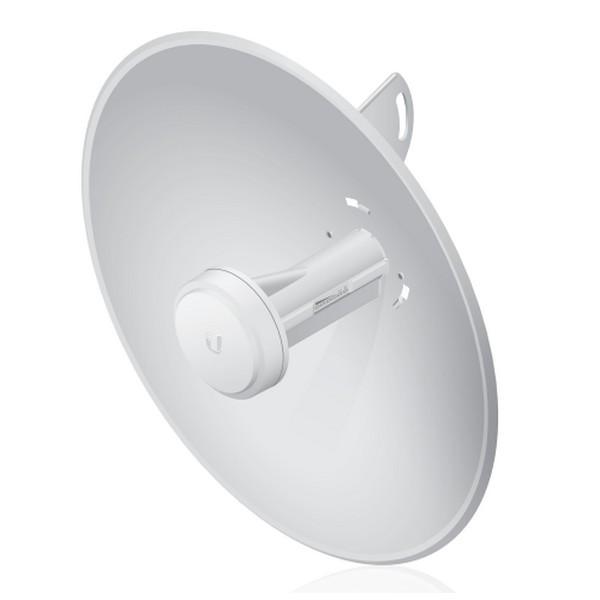 رادیو وایرلس یوبیکیوتی UbiQuiti PowerBeam M2 400یکی از محصولات شرکت یوبیکوییتی می باشد که برای ارتباطات نقطه به نقطه تا فاصله 7 کیلومتر طراحی شده است . این محصول دارای آنتن 18Dbi می باشد