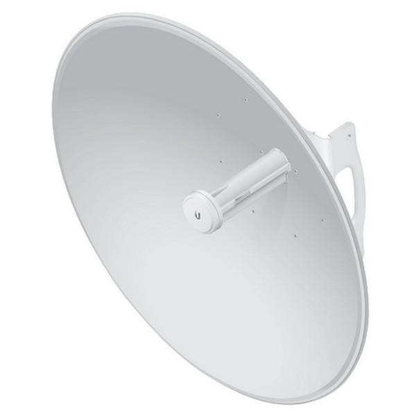 رادیو وایرلس یوبیکیوتی UbiQuiti PowerBeam PBE-M-620 یکی از محصولات ایده آل شرکت یوبیکوییتی می باشد که برای ارتباطات نقطه به نقطه تا فاصله 30 کیلومتر طراحی شده است .