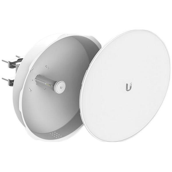 رادیو پاور بیم یوبیکیوتی UbiQuiti PowerBeam M300 PBE-M5-300-ISOیکی از محصولات شرکت یوبیکوییتی می باشد که برای ارتباطات نقطه به نقطه تا فاصله 20 کیلومتر طراحی شده است