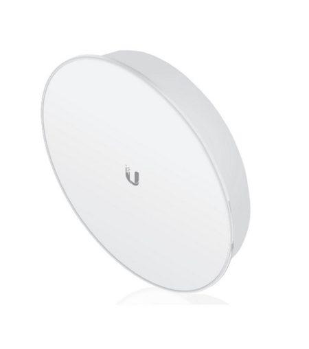 رادیو پاور بیم یوبیکیوتی UbiQuiti PowerBeam M400 PBE-M5-400-ISOاز محصولات شرکت یوبیکوییتی می باشد که برای ارتباطات نقطه به نقطه تا فاصله 25 کیلومتر طراحی شده است . این محصول دارای آنتن 25Dbi می باشد که قابلیت کارکرد در فرکانس 5.8 Ghz را دارا می باشد