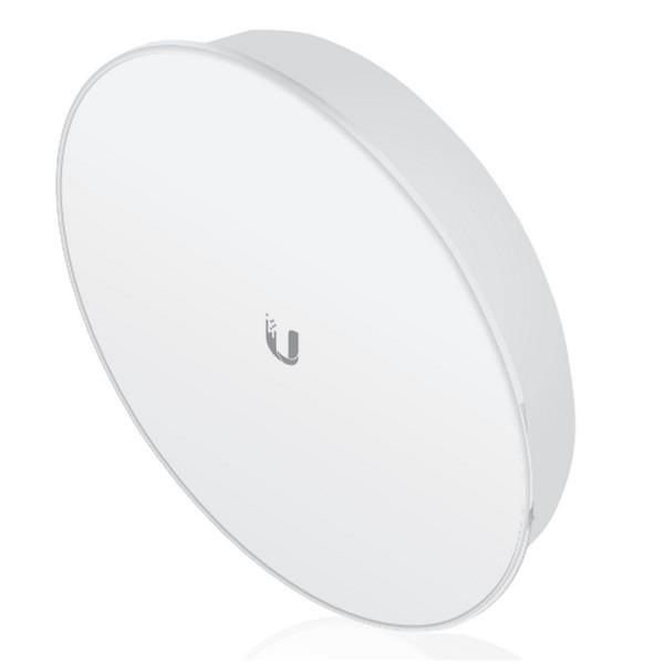 رادیو پاور بیم یوبیکیوتی UbiQuiti PowerBeam M400 PBE-M5-400-ISOاز محصولات شرکت یوبیکوییتی می باشد که برای ارتباطات نقطه به نقطه تا فاصله 25 کیلومتر طراحی شده است .