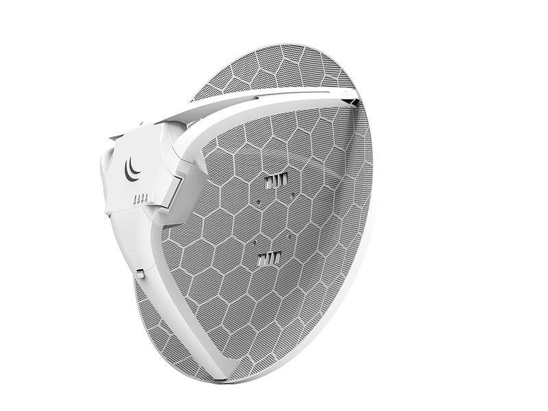 رادیو 4G با آنتن 21Dbi میکروتیک Mikrotik LHG 4G kit با نام فنیRBLHGR&R11e-4G از محصولات دیگر میکروتیک است که به تازگی به بازار عرضه شده است و علاقه مندان بسیاری نیز دارد . این رادیو توانسته استدغدغه ی بسیاری از افرادی که از عدم پوشش LTE در محدوده خود رنج می بردند را از بین ببرد . LHG 4G kit توانایی کارکرد در باند LTE را دارد که در زیر بیشتر به آن می پردازیم .