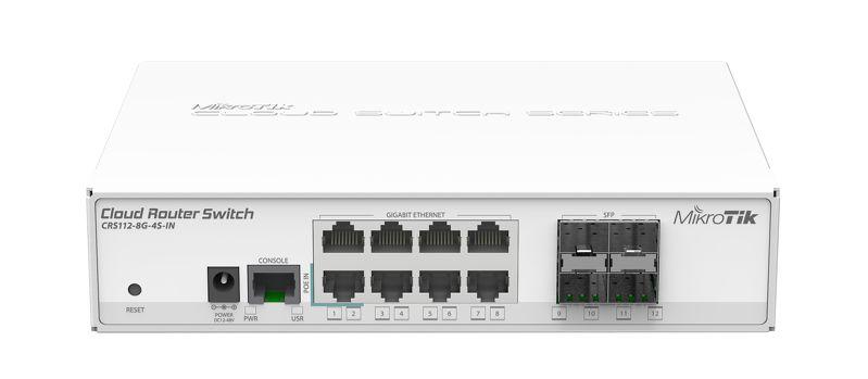 قیمت روتر سوئیچ میکروتیک CRS112-8G-4S-IN