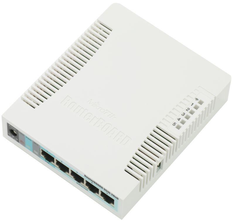 روتر وایرلس میکروتیک Mikrotik RB951G-2HnDیکی از محصولات بسیار پرطرفدار میکروتیک است که با وجود دستگاههای جدید هنوز هم جایگاه خود را در بازار حفظ کرده است . علت این محبوبیت این است که این روتر از تعداد پورت مناسب ،