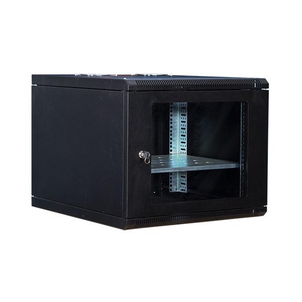 رک دیواری 9 یونیت عمق 45 اچ پی آی Hpi Rackاز دیگر محصولات تولید شده این شرکت است که با کاربری دیواری طراحی و تولید شده است . در این سری از رکهای دیواری علاوه بر حفظ کیفیت