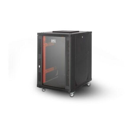 رک 17 یونیت ایستاده عمق 100 اچ پی آسیا Hpasia Rackبا کد فنی 13101043 یکی از محصولات اچ پی آسیا است که در داخل ایران تولید شده و از کیفیت قابل قبولی