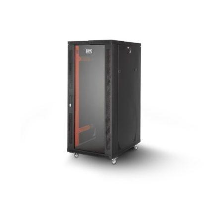 رک 22 یونیت ایستاده عمق 80 اچ پی آسیا Hpasia Rackبا کد فنی 13101012 یکی از محصولات اچ پی آسیا است که در داخل ایران تولید شده و از کیفیت قابل قبولی برخوردار