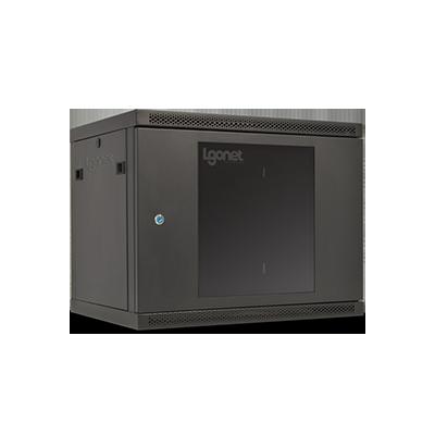 رک 9 یونیت عمق 60 الگونت Lgonet Rack یکی از محصولات این شرکت است که جزو سری پیشرفته بوده و دارای کیفیت بسیار خوبی می باشد . در این سری سعی شده