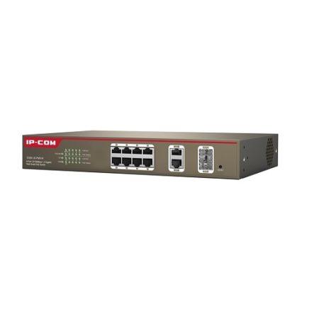 سوئیچ 10 پورت هوشمند POE آی پی کام IP-COM S3300-10-PWR-Mیکی دیگر از محصولات آی پی کام است که جزو رده ی هوشمند یا Web Smart است که دارای 8 پورت اترنت