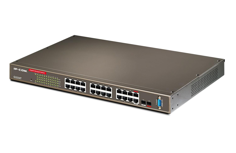 خرید سوئیچ 24 پورت گیگ آی پی کام IP-COM G3224T