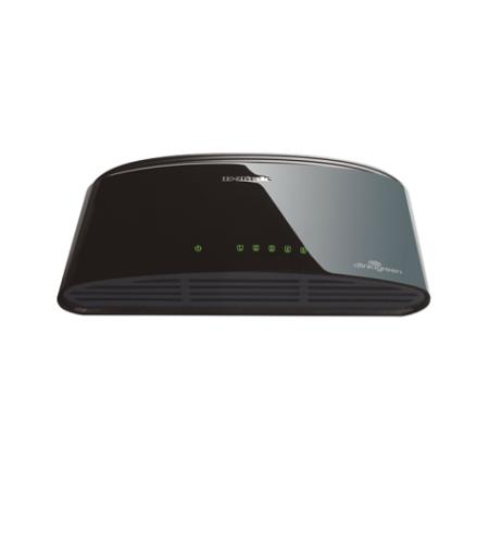 سوئیچ 5 پورت دی لینک D-link DES-1005Dدارای 5 پورت اترنت 10/100 به همراه نمایشگر وضعیت پورتها بر روی خود است و جزو محصولات پرطرفدار دی لینک می باشد .