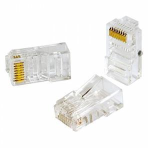 سوکت شبکه CAT5 کی نت Cat5e UTP Connector RJ45از دیگر محصولات کی نت است که برای استفاده بر روی کابل های UTP طراحی شده است .این نوع کانکتور برای کابل های Cat5 طراحی شده است . تفاوت آن با کانکتور Cat6 در نحوه قرارگیری کابل ها درون کانکتور است که در کانکتور Cat5 کابل ها کنار هم به صورت خطی قرار می گیرند .