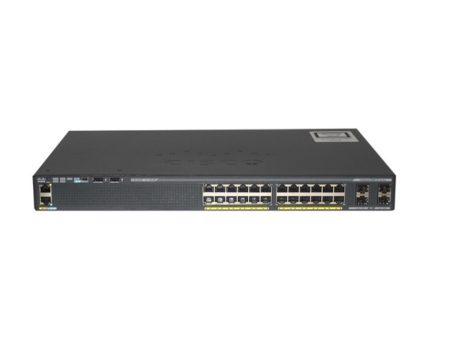 سوئیچ مدیریتی سیسکو Cisco WS-C2960X-24TS-L دارای 24 پورت اترنت 10/100/1000 بوده و از 4 پورت SFP نیز بهره می برد . این سوئیچ برای استفاده در رک طراحی شده