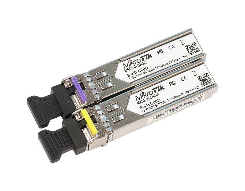 قیمت ماژول سینگل مد صنعتی میکروتیک S-4554LC80D