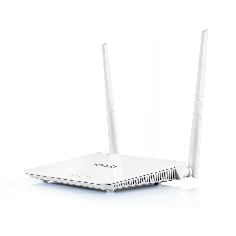 مودم ADSL تندا 4 پورت 2 آنتن Tenda D303از محصولات محبوب تندا می باشد و دارای 4 پورت اترنت به همراه 2 آنتن 5Dbi با قابلیت کارکرد در فرکانس 2.4 Ghz می باشد که توان تبادل اطلاعات تا 300Mbps را فراهم می سازد . این محصول از یک پورت USB برای اتصال دانگل 3G/4G بهره می برد و می توانید در تنظیمات تعریف شده مودم 4G را به عنوان پشتیبان در نظر گرفته تا در صورت قطع ADSL این دیتا جایگزین گردد . در این محصول ترکیبی از مودم ، روتر و وایرلس وجود دارد که تقریبا تمام نیازهای شما را برطرف خواهد ساخت . وجود امکانات مدیریتی ، کیفیت ساخت مطلوب و قیمت مناسب به محبوبیت این محصول افزوده است . با افزار نت همراه باشید برای بررسی دقیق تر D303 .