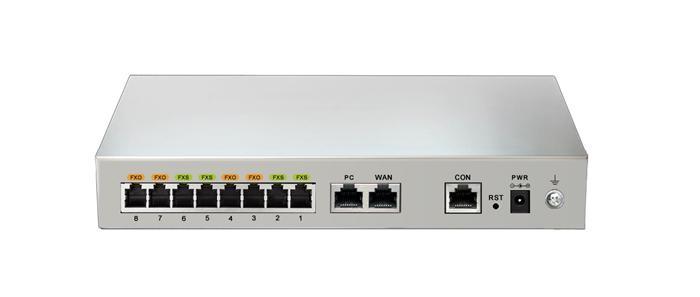 ویپ گیتوی 4 پورت FXS و FXO نیوراک Newrock MX8A-4S/4یکی دیگر از محصولات کمپانی نیوراک می باشد که به صورت ترکیبی دارای 4 پورت FXS و 4 پورت FXO و 1 پورت اترنت ، 1 پورت کنسول و 1 پورت WAN می باشد