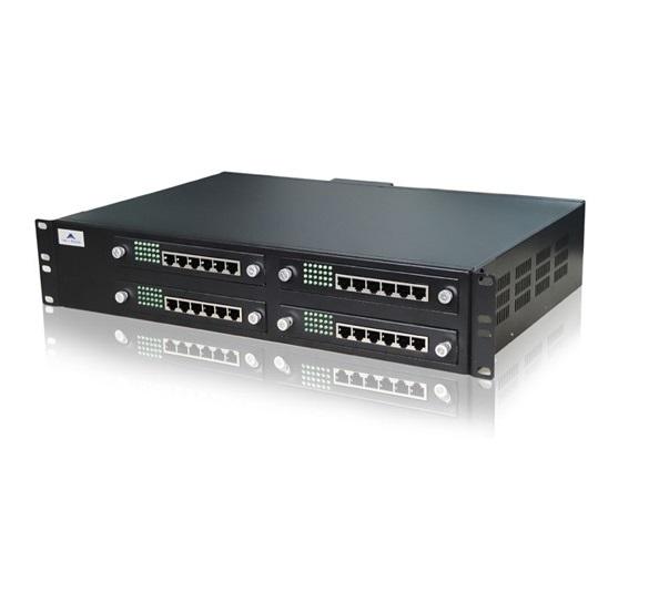ویپ گیتوی 48 پورت FXS نیوراک Newrock MX120-48Sاز دیگر محصولات کمپانی نیوراک می باشد که دارای 48 پورت FXS به همراه 1 پورت اترنت ، 1 پورت WAN می باشد که می توان با استفاده از این دستگاه 48 خط شهری را به VOIP متصل کرد