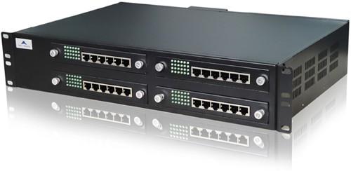 ویپ گیتوی 96 پورت FXS نیوراک Newrock MX120-96FXSاز دیگر محصولات کمپانی نیوراک می باشد که به دارای 96 پورت FXS به همراه 1 پورت اترنت ، 1 پورت WAN می باشد که می توان با استفاده از این دستگاه 96 خط شهری را به VOIP متصل کرد .