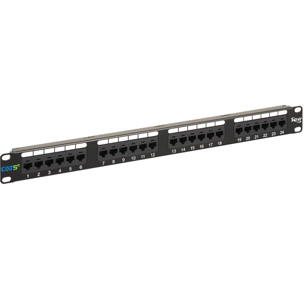 پچ پنل 24 پورت Cat5e Utp کی نت K-net Patch Panelیکی از محصولات کی نت است که برایاتصال انتهایی کابل های شبکه یا فیبر نوری به عنوان واسط به تجهیزاتی مانند سوئیچ ، روتر و … را بر عهده دارد . وجود پچ پنل الزامی نمی باشد اما در طولانی مدت به جهت فهم بهتر کابلهای ورودی و آرایش رک اکثر اجراکنندگان شبکه از پچ پنل استفاده می کنند .
