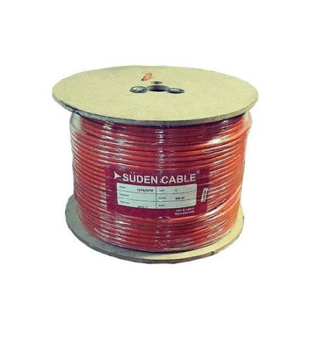 کابل شبکه سودن SUDEN CAT6 SFTP CCAیکی دیگر از کابل های شبکه در دسته بندی Cat6 می باشد که قابلیت تبادل اطلاعات تا سرعت 1000مگابیت را در اختیار شما قرار می دهد . این کابل دارای روکش PVC بوده و از آلیاژ آلومینیوم و مس تهیه و تولید گردیده است