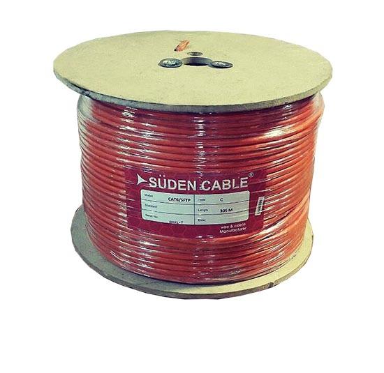 کابل شبکه سودن SUDEN CAT6 SFTP CCAیکی دیگر از کابل های شبکه در دسته بندی Cat6 می باشد که قابلیت تبادل اطلاعات تا سرعت 1000مگابیت را در اختیار شما قرار می دهد .
