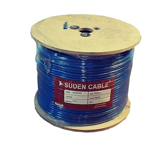 کابل شبکه سودن SUDEN CAT6 UTP CCA یکی دیگر از کابل های شبکه در دسته بندی Cat6 می باشد که قابلیت تبادل اطلاعات تا سرعت 1000 مگابیت را در اختیار شما قرار می دهد . این کابل دارای روکش PVC بوده و از آلیاژ آلومینیوم تهیه و تولید گردیده است .