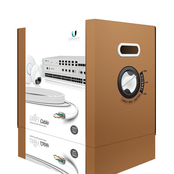 قیمت کابل شبکه CAT6 ضد حرارتی UbiQuiti Cable Cat6