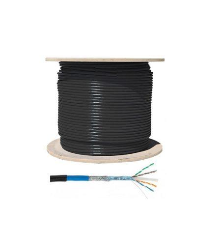 کابل شبکه Cat 6 SFTP زیمنس Siemens Cable از مس ساخته شده است و دارای روکش شیلد و یک روکش فویل داخلی می باشد که در برابر نویز بسیار مقاوم بوده و میزان