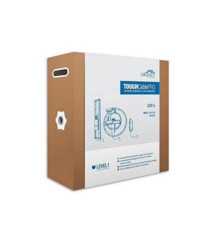کابل شبکه Cat5e یوبیکیوتی UbiQuiti TOUGH Cable Pro یکی از کابل های شبکه بسیار عالی که در بازار یافت می شود . این کابل عالی توسط شرکت UbiQuiti طراحی و ساخته شده است که برای شرایط محیطی خاص ساخته شده است .