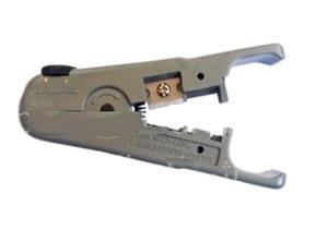 کابل لخت کن کی نت K-net Stripper یکی از ابزارهای کی نت است که قابلیت تنظیم برای برداشتن روکش انواع کابل با ضخامتهای مختلف، بدون آسیب رساندن به رشتههای کابل را اختیار شما قرار می دهد .