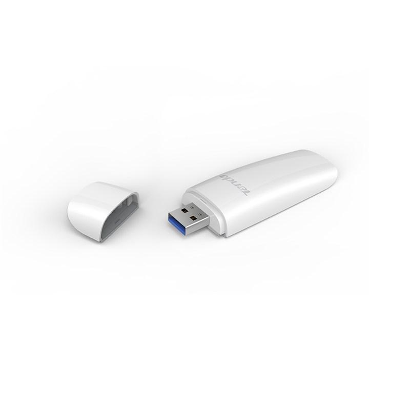 کارت شبکه USB تندا Tenda U12 Wireless AC1300از دیگر محصولات قدرتمند تندا است که توانایی تبادل اطلاعات با سرعت بسیار بالا را دارا می باشد . ابعاد مناسب ، کیفیت دریافت سیگنال مناسب ،