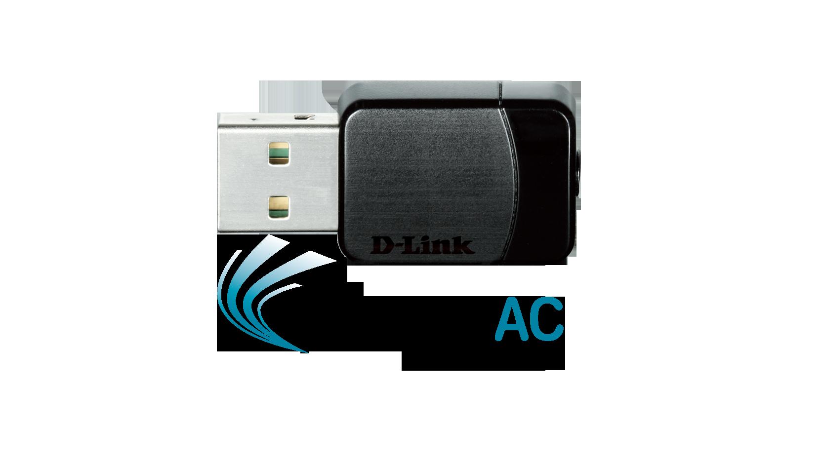 کارت شبکه USB دی لینک D-LINK DWA‑171 AC600یکی دیگر از محصولات کمپانی دی لینک است که قابلیت کارکرد در دو فرکانس 2.4 و 5.8 GHZ را دارا می باشد . محصول فوق توانایی تبادل اطلاعات با سرعت 430Mbps