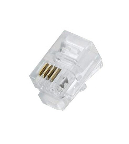 کانکتور تلفنی کی نت K-net Connector Rj11 از محصولات کی نت است که برای اتصال ادوات مخابراتی بیشتر مورد استفاده قرار می گیرد .کانکتورهای Rj-11 دارای۴پین فلزی است و کابل مورد استفاده این کانکتورها کابل۴و یا۶رشته تخت می باشد.