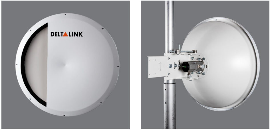 مشخصات و معرفی آنتن دیش 25Dbi Dual SHp دلتالینک ANT-SHP5525N