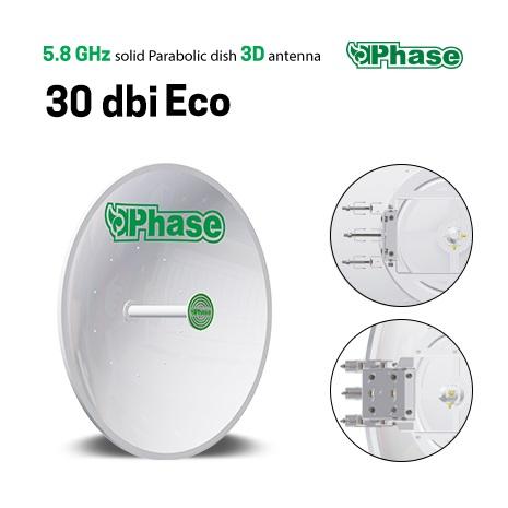 آنتن دیش فاز اکونومی Phase 30dBi Eco تصویر 1