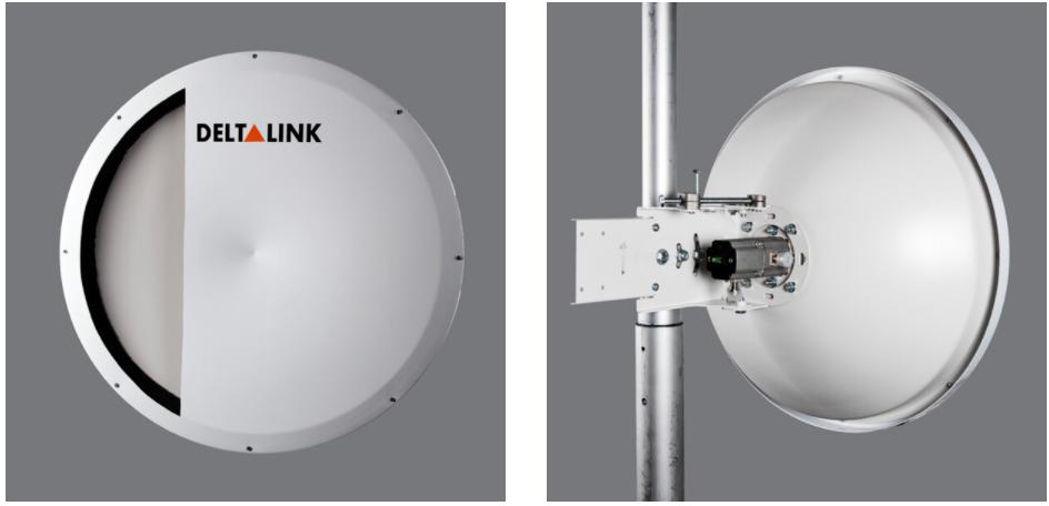 معرفی و مشخصات آنتن دیش 37Dbi Dual SHp دلتالینک ANT-SHP5537N