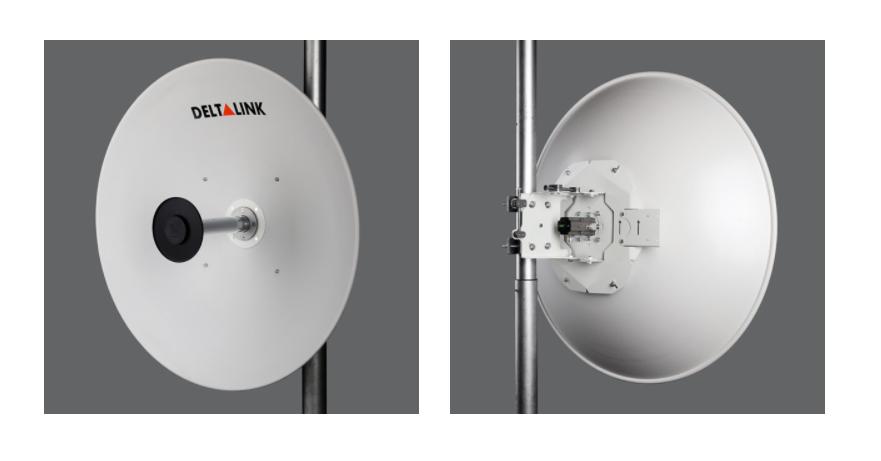 مشخصات آنتن 6 گیگاهرتز 31Dbi Dual دلتالینک ANT-6031N