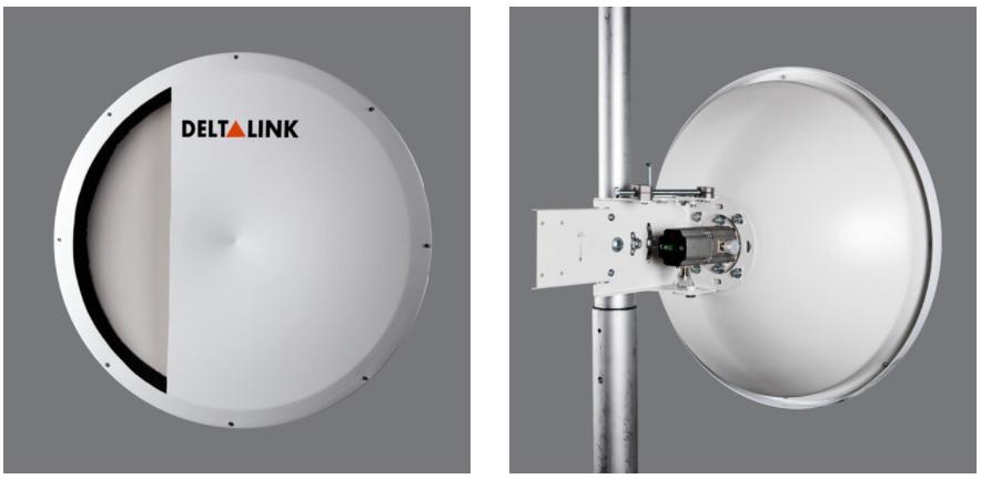 مشخصات و معرفی آنتن 6 گیگاهرتز 35Dbi Dual Shp دلتالینک ANT-SHP6035N