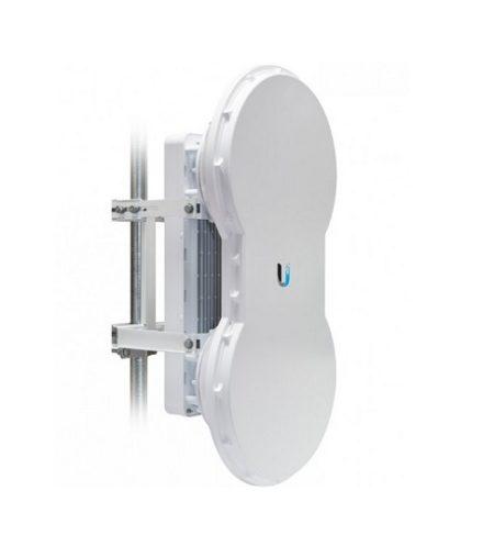 رادیو ایر فایبر 5 گیگا یوبیکوییتی Radio airFiber Ubiquiti 5Ghz AF-5 یکی از محصولات منحصر به فرد کمپانی یوبیکوییتی می باشد و می توان سری ایر فایبر را جزو