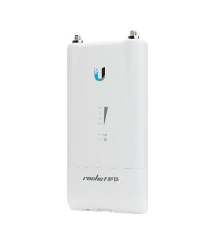 رادیو راکت M5 AC یوبیکیوتی Ubiquiti RocketM5 450Mbps R5AC-Liteیکی از محصولات شرکت یوبیکوییتی می باشد که برای ارتباطات نقطه به نقطه و یا یک نقطه به چند نقطه طراحی و تولید شده است