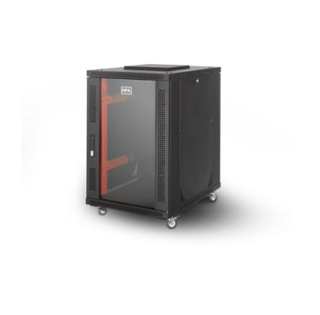 رک 17 یونیت ایستاده عمق 80 اچ پی آسیا Hpasia Rack با کد فنی 13101042 یکی از محصولات اچ پی آسیا است که در داخل ایران تولید شده و از کیفیت قابل قبولی برخوردار