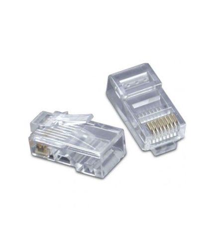سوکت شبکه CAT5 کی نت Cat5e UTP Connector RJ45از دیگر محصولات کی نت است که برای استفاده بر روی کابل های UTP طراحی شده است .این نوع کانکتور برای کابل های