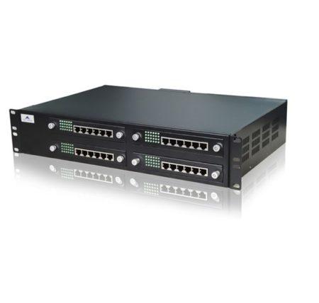 ویپ گیتوی ترکیبی 48FXS و 24FXO نیوراک Newrock MX120-48S/24از دیگر محصولات کمپانی نیوراک می باشد که به صورت ترکیبی دارای 48 پورت FXS و 24 پورت FXO ، 1 پورت اترنت ، 1 پورت WAN می باشد که می توان با استفاده از این 48 پورت تعداد 48 دستگاه آنالوگ را مانند فکس