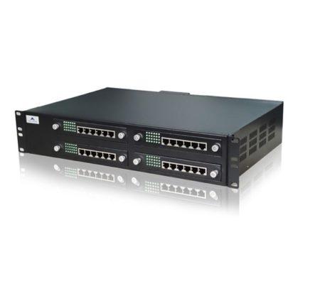 ویپ گیتوی 48 پورت 24 FXS و 24 FXO نیوراک Newrock MX120-24S/24یکی دیگر از محصولات کمپانی نیوراک می باشد که بهصورت ترکیبی دارای 24 پورت FXO